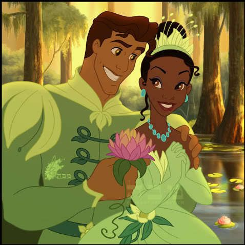 princess and the frog prince