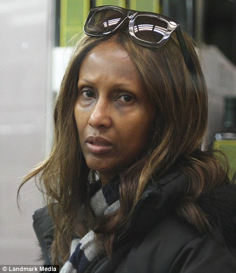 Iman Without Makeup