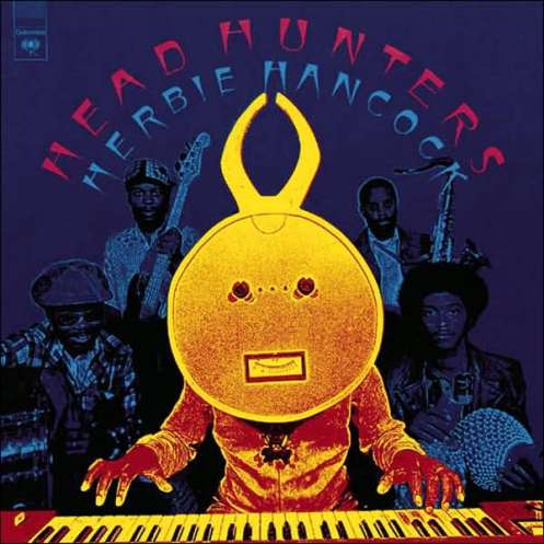 "Album cover of Herbie Hancock's ""Headhunters,"" 1973"