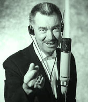 Thurl Ravenscroft, who voiced Tony the Tiger for many years for Kellogg (Courtesy:  Google)