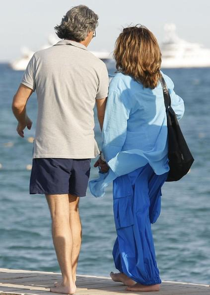 Erwin Bach and Tina Turner near St. Tropez two years ago; more proof that she is living the good life and she's not looking back  (Courtesy: TinaTurnerBlog)