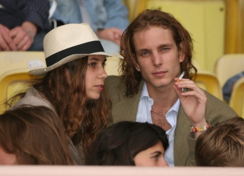 Andrea Casiraghi and Tatiana Santo Domingo before baby (Courtesy: Celebitchy)