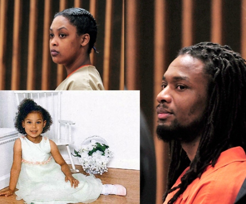 Shaniya Davis (L), her mother Antoinette Davis (top) and her killer Mario McNeill (R); the trial of her suspected killer, McNeill begins next Monday, followed thereafter by that of her mother (Courtesy: )