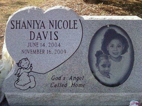 It's self-explanatory; more people, it is said, have been visiting Shaniya's grave since the trial commenced (Courtesy: Justice for Shaniya Davis/Facebook)