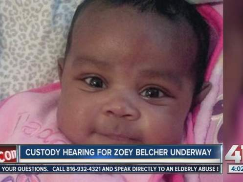 Baby Zoey Michelle Belcher, daughter of Jovan Belcher and Kasandra Perkins, will reside in Texas with her mother's family according to a recent ruling awarding custody to her mother's cousin, Sophie Perkins (Courtesy: KSHB.com)