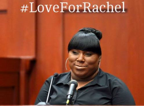 This is a Facebook poster for those who support--and really get--Rachel Jeantel, who was the last person to talk to Trayvon Martin before he was killed by George Zimmerman (Courtesy: Facebook)