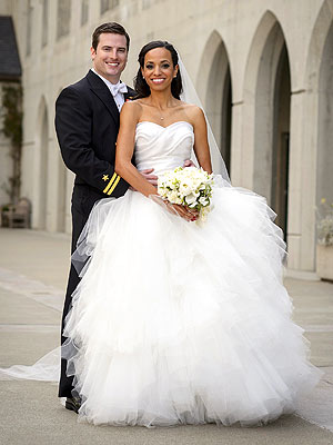 Jack McCain, son of Senator John McCain of Arizona  married his Air Force sweetheart, Renee Swift over the weekend at San Francisco's Grace Cathedral (Courtesy: People)