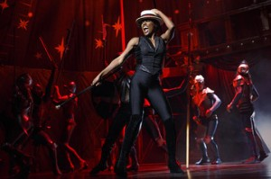 "Patina Miller in her Tony Award-winning role in ""Pippin"" (Courtesy: WSJ)"
