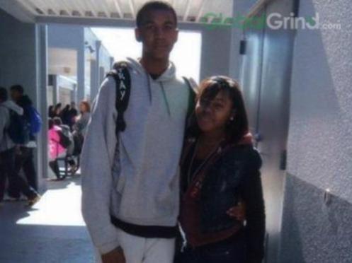 Trayvon's Death Scene