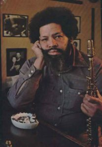 "Julian Edwin ""Cannonball"" Adderley before his death in 1975 (Courtesy: Cannonball-Addereley.com)"