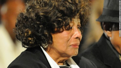 Katherine Jackson, 83, at the wrongful death trial of promoter AEG; she still believes AEG drove Michael Jackson to death and stole his money (Courtesy: CNN)
