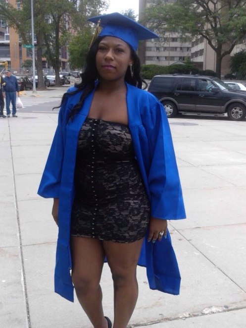 Aprina Paul on her graduation day from Madison West High School (Courtesy: TranspireMag.com)